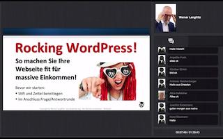 WordPress Akademie Webinare
